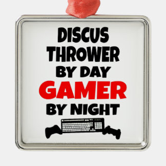 Gamer Discus Thrower Christmas Ornament