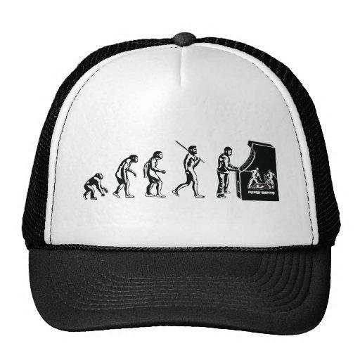 Gamer Evolution - Game Video Games Arcade Geek Trucker Hat