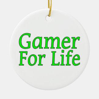 Gamer For Life Christmas Ornament