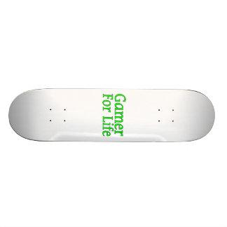 Gamer For Life Custom Skateboard