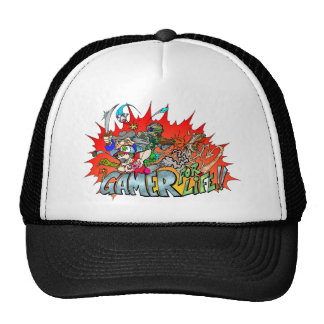 Gamer for Life Hats