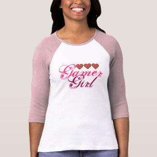 Gamer Girl Hearts T-Shirt