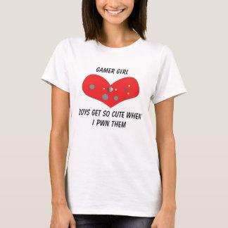 Gamer Girl Pwns Cute T-Shirt
