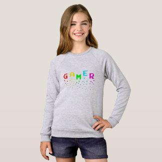 GAMER Girls' American Apparel Raglan Sweatshirt