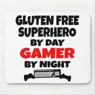 Gamer Gluten Free Superhero Mouse Mat