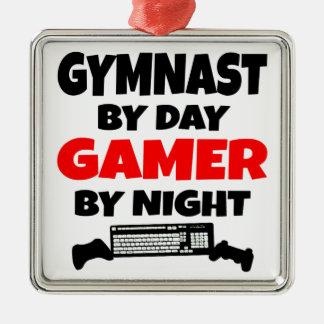 Gamer Gymnast Christmas Ornament