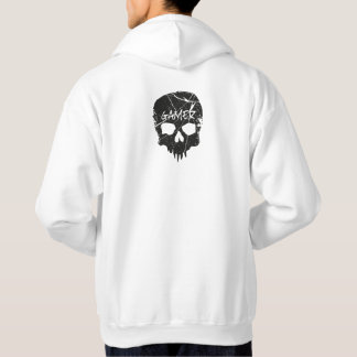 Gamer hoodie with skull design