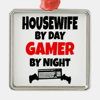 Gamer Housewife Christmas Ornament