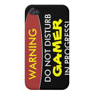 GAMER, IN PROGRESS! i iPhone 4 Cover