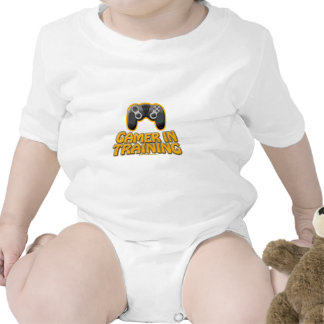 Gamer In Trainiing - Controller Rompers