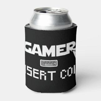 Gamer insert coin can cooler