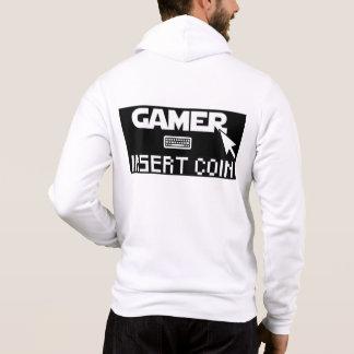 Gamer insert coin hoodie