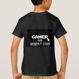Gamer insert coin T-Shirt