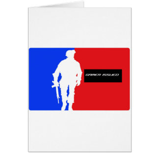 Gamer Issued Greeting Card