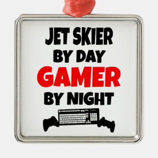 Gamer Jet Skier Christmas Ornament