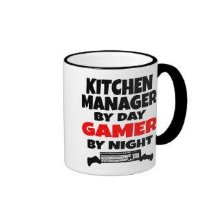 Gamer Kitchen Manager Ringer Mug