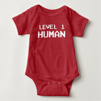 Gamer Level One Human - Gaming Shirt