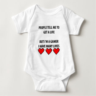 Gamer Lives Baby Bodysuit