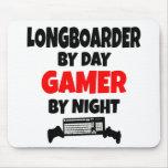 Gamer Longboarder Mousepads