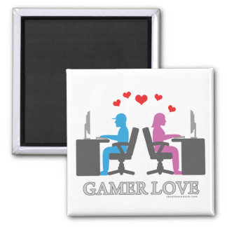 Gamer Love Magnet