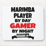 Gamer Marimba Player Mouse Pads