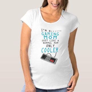 !! Gamer Mom ! Women's Maternity T-Shirt, Eggshell Maternity T-Shirt