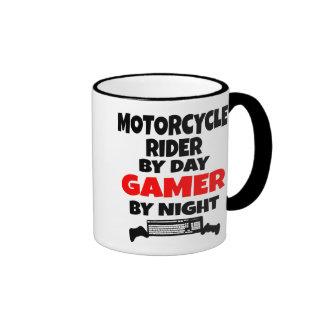 Gamer Motorcycle Rider Ringer Mug
