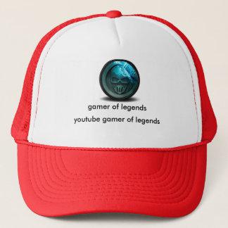 gamer of legends trucker hat