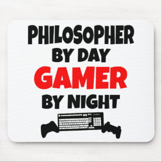 Gamer Philosopher Mouse Mat