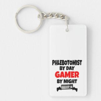 Gamer Phlebotomist Key Ring
