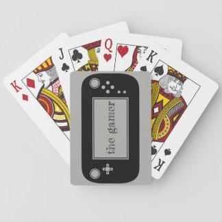 Gamer playing cards