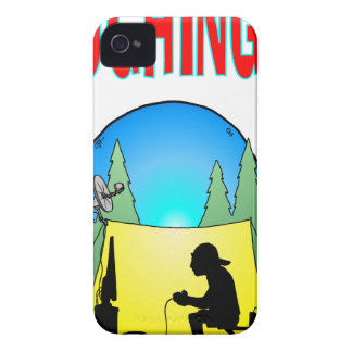 Gamer Roughing It iPhone 4 Case-Mate Case