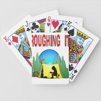 Gamer Roughing It Poker Cards