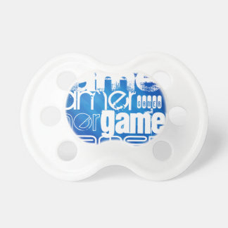 Gamer; Royal Blue Stripes BooginHead Pacifier