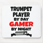 Gamer Trumpet Player Mouse Mat