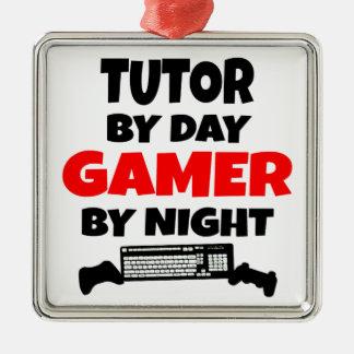 Gamer Tutor Christmas Ornament
