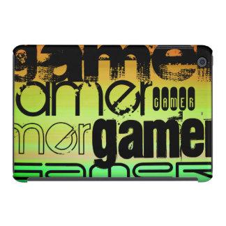 Gamer; Vibrant Green, Orange, & Yellow iPad Mini Retina Covers
