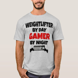 Gamer Weightlifter T-Shirt