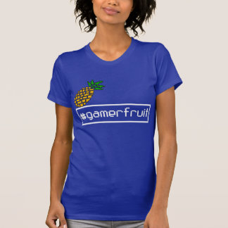 GamerFruit Womens Pixel T-Shirt (Dark)
