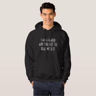 gamers are gamers hoodie