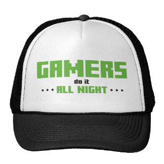 Gamers Do It All Night Mesh Hat