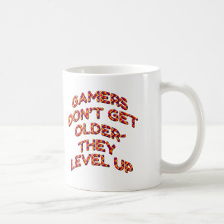 Gamers Don't Age They Level Up Cup Mug