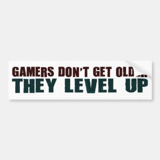 Gamers Don't Get Older... Bumper Sticker