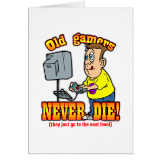 Gamers Greeting Card