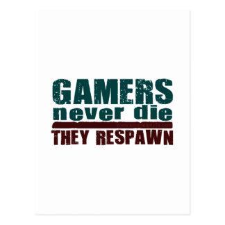 Gamers Never Die... Postcard