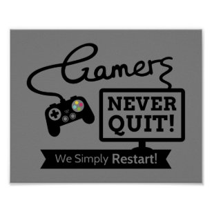 gamers quote gifts gift ideas zazzle uk