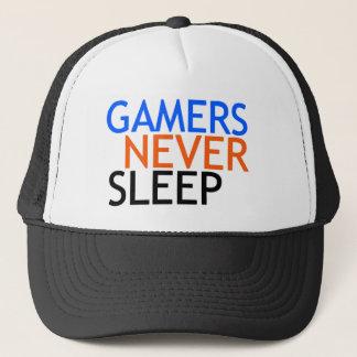 Gamers Never Sleep Trucker Hat