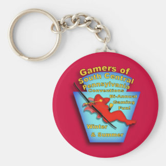 Gamers of South Central PA Key Ring