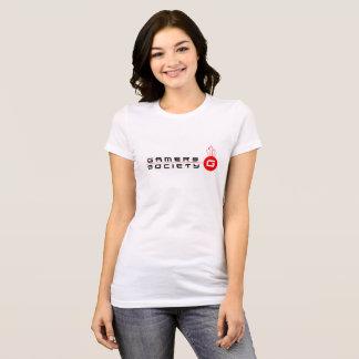 Gamers Women's favourite Jersey T-Shirt, White T-Shirt