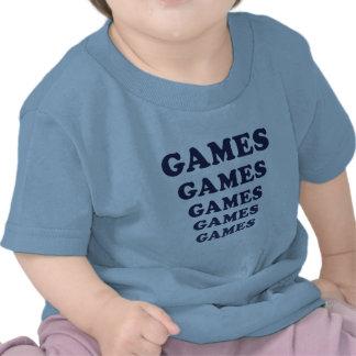 Games Games Games Games Games Tshirt